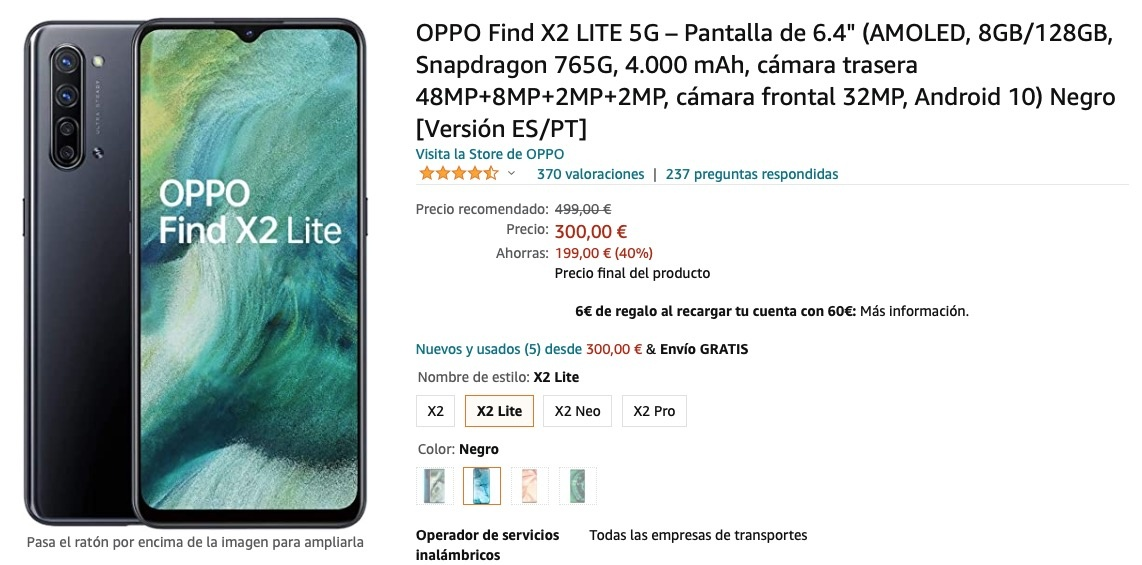 Oppo find X2 offers
