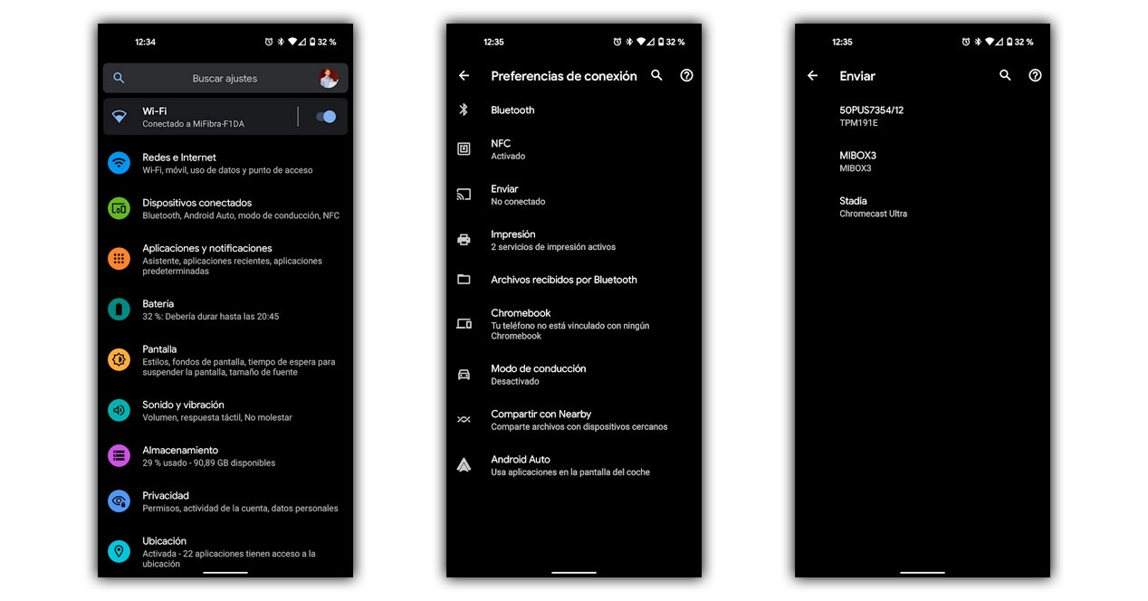 share screen android