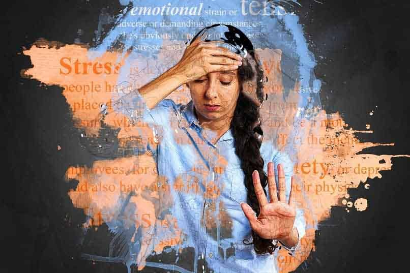 woman problems stress anxiety