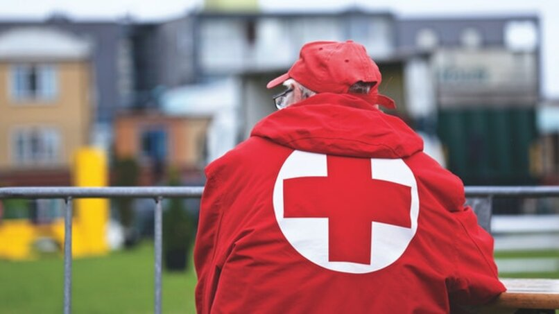 red cross jacket lord