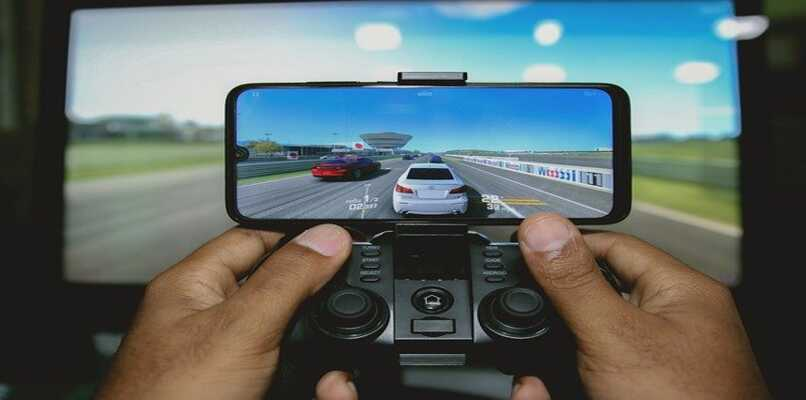 racing game and control