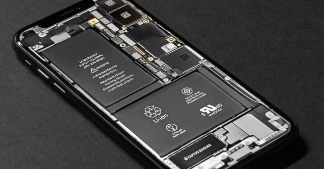 Apple iphone battery parts